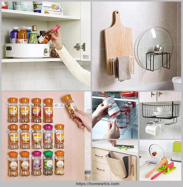 идей для организации хранения на кухне