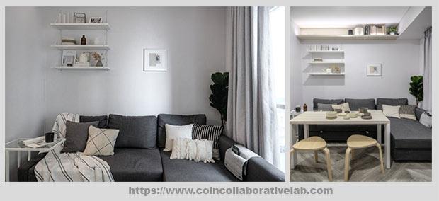 диван Г-образной формы