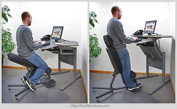 стул для работы стоя