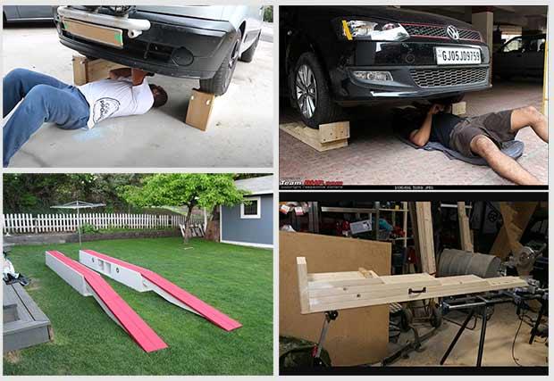 пандус для автомобиля