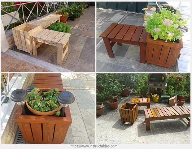 садовая скамейка своими руками