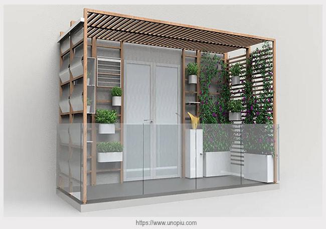 модульная система для балкона