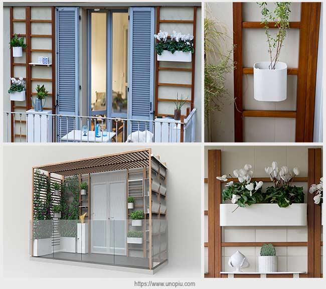 использование пространства балкона