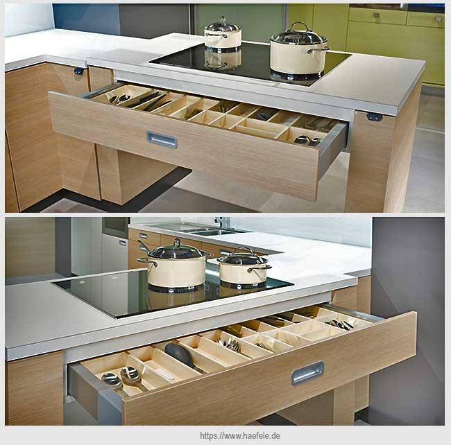 выдвижной кухонный ящик