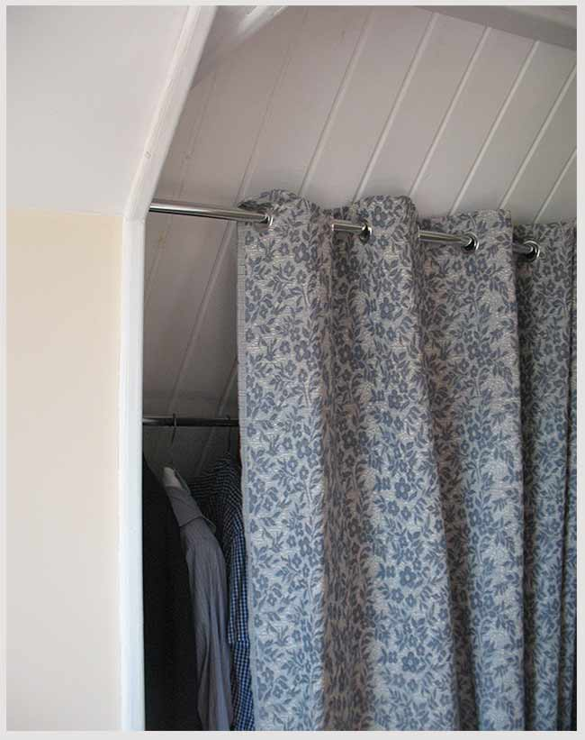 шторы в гардеробной