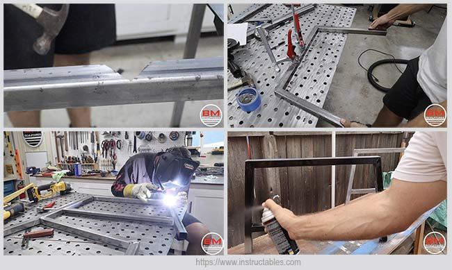изготовление ножек
