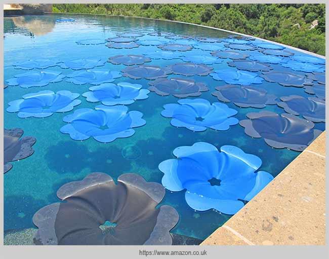 стильный вид бассейна