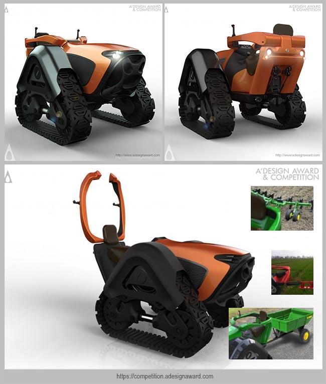 трактор Harman