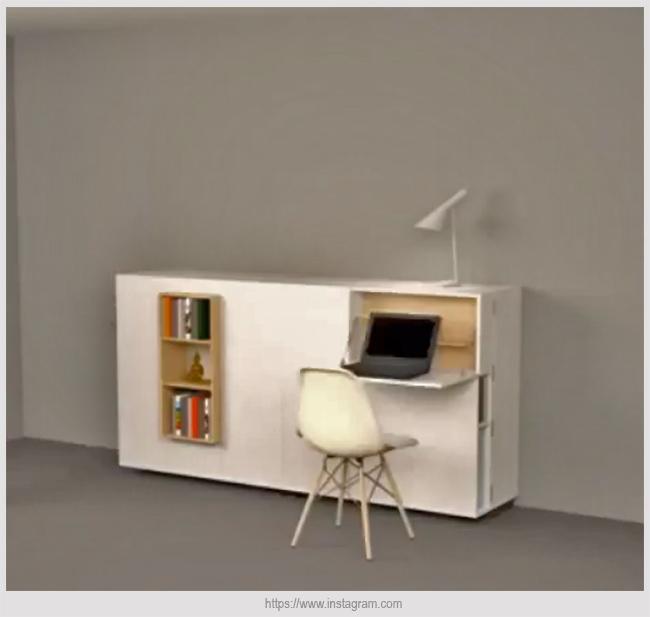 мебель с откидной столешницей