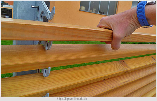 монтажа деревянных ограждений