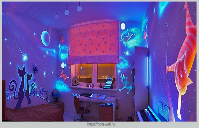 краски для декорирования квартиры