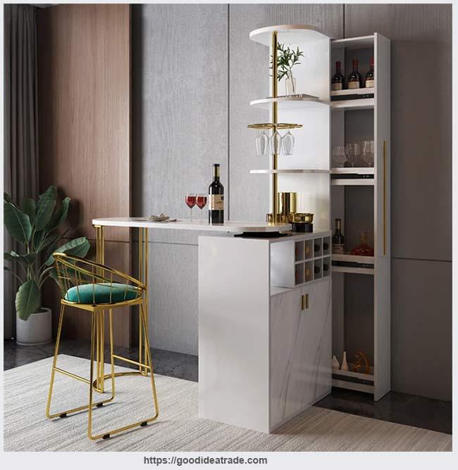 барный стол со шкафом