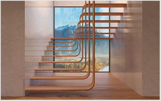 удивительные лестницы