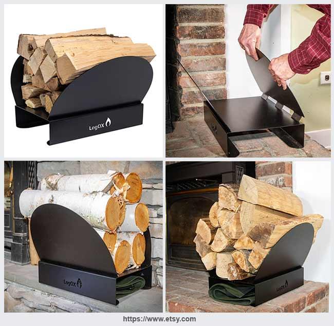 разборная подставка для дров