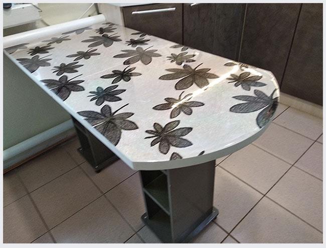кухонный стол обновленный