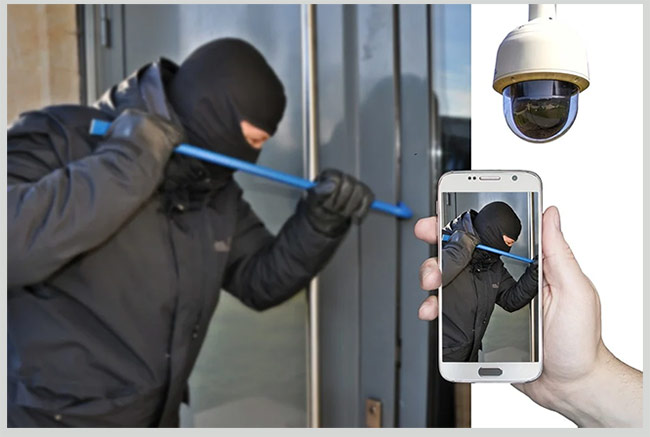 защита двери от взлома
